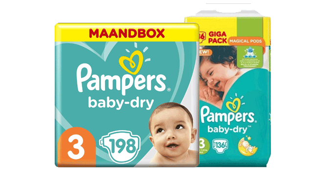 Pampers Baby Dry Angebot