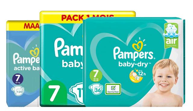 Pampers Gr. 7 Angebote